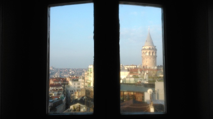 Galata Tower from my window